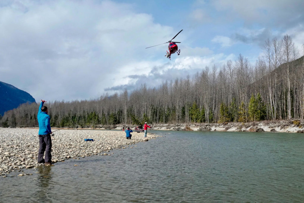 Heli Adventures from Bute Inlet Lodge